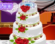 Big fat wedding cake deco online sütős játék
