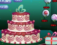 Christmas cake 2013 decoration s�t�s j�t�kok