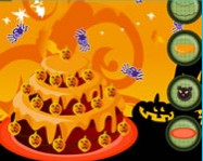 Halloween big cake decor online