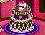 Monster High special cake s�t�s j�t�kok