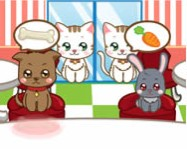 Pet restaurant online